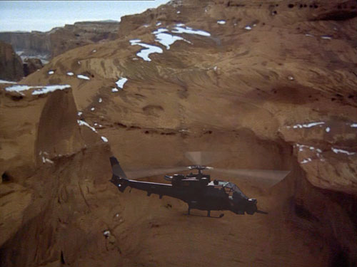 Someone on airwolf.org mentioned the idea of Blue Thunder in Airwolf's ...